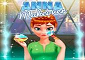 Anna Makyaj Yapıyor
