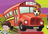Futbolcu Otobüsü Park Et