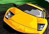 Mini Arabalar Yarışta