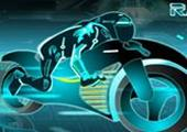Neon Motor Yarışı 3D